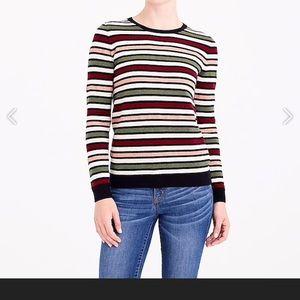 New With Tag Women's J Crew Striped sweater sz S